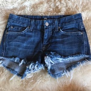 7 For All Mankind Shorts - 7 for all Mankind cut off shorts